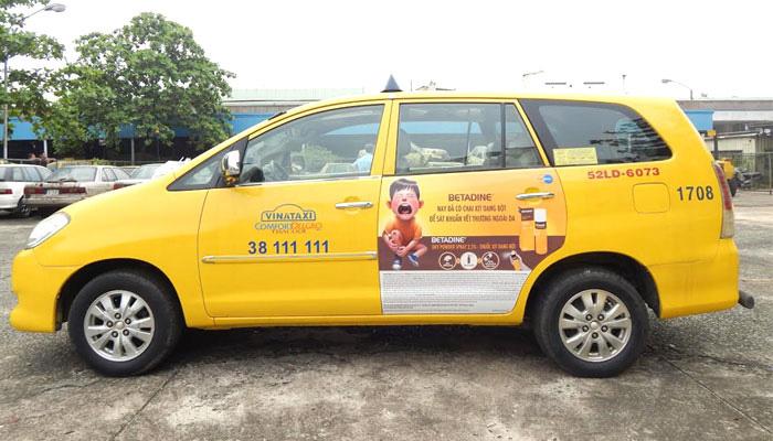 Ưu Điểm Quảng Cáo Trên Xe Taxi